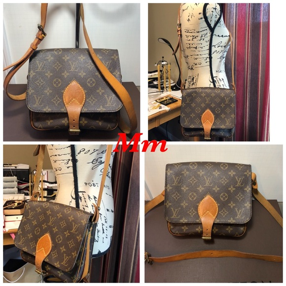 0518337a63 Louis Vuitton Handbags - Louis Vuitton Mono Cartouchiere MM Cross body Bag